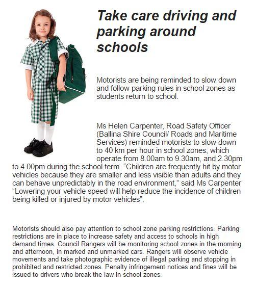 driving round schools