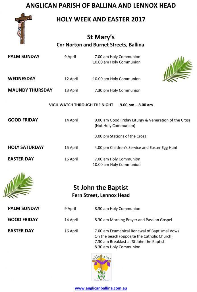 Easter Flier 2017