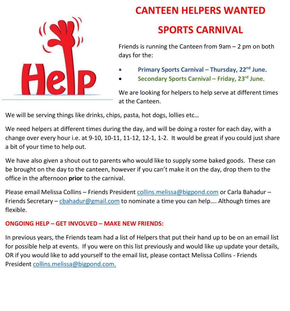 2017-06-19 Helpers Sports Carnival