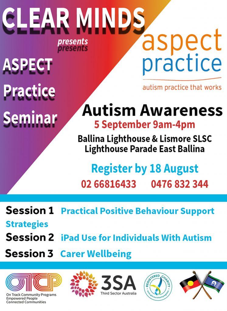Aspect Seminar Ballina newsletter ad