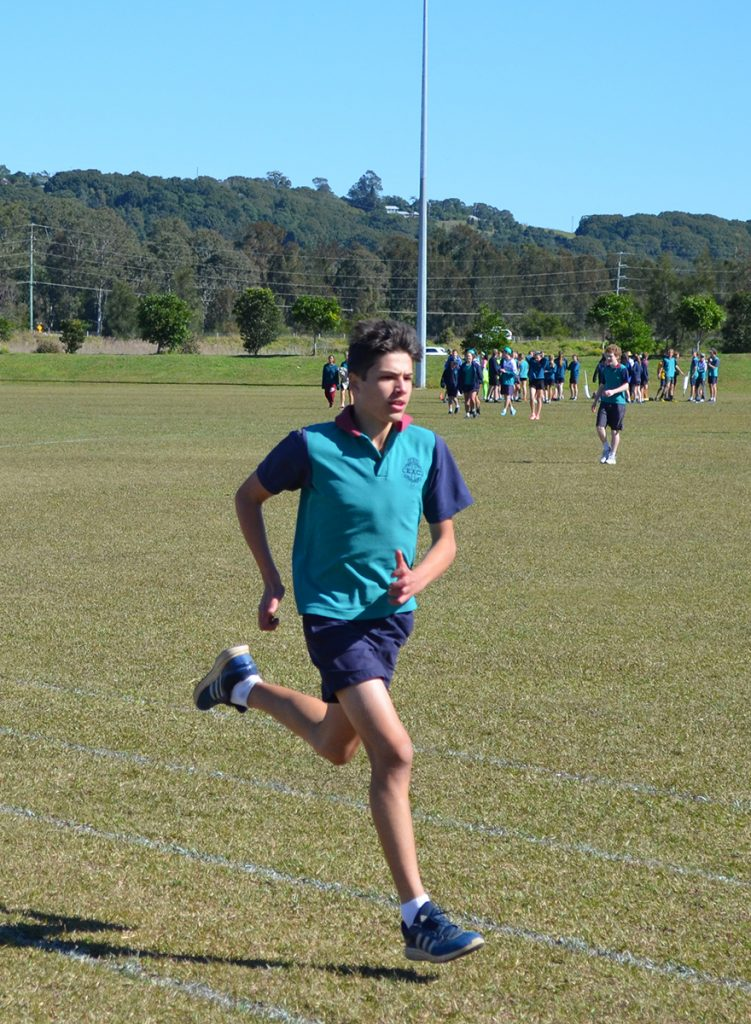 Sport Boy sprinting