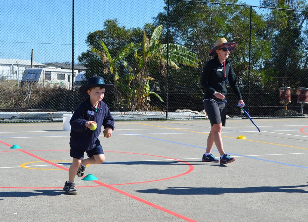 Kindy Experience Day Running Boy