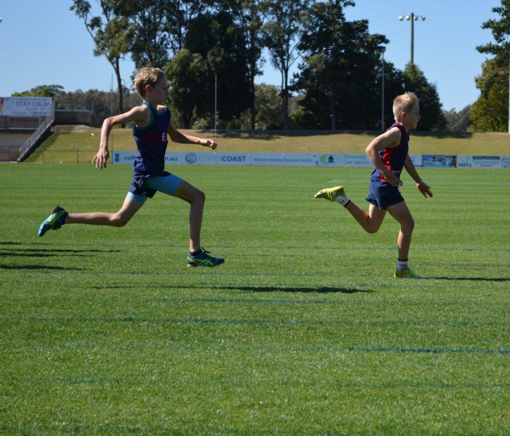 NCIS boys sprint