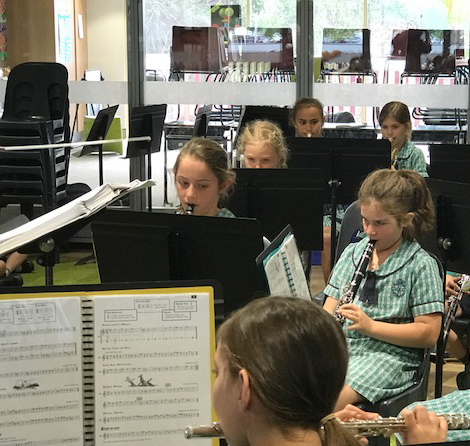 Primary band flute