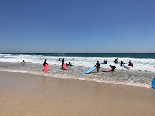 Yr 4 surfing