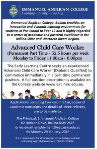 Advanced Child Care Worker (2)