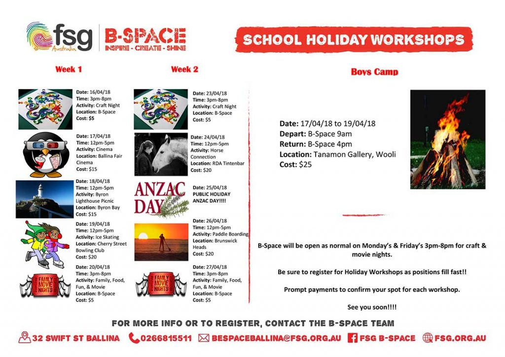 B-Space-April-School-Holiday-Program
