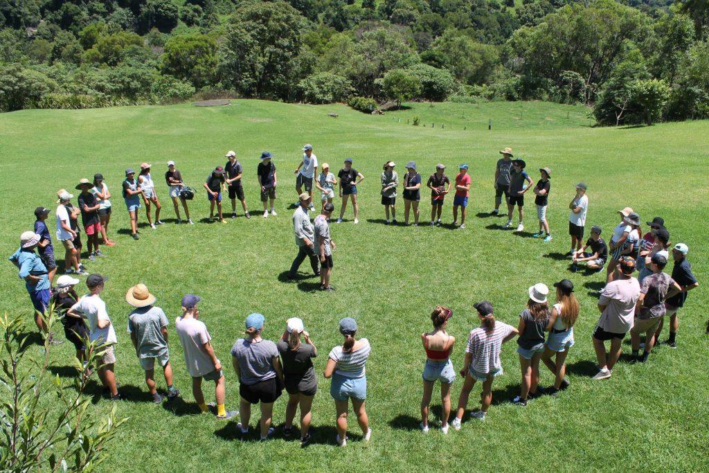Year-9-Camp-circle