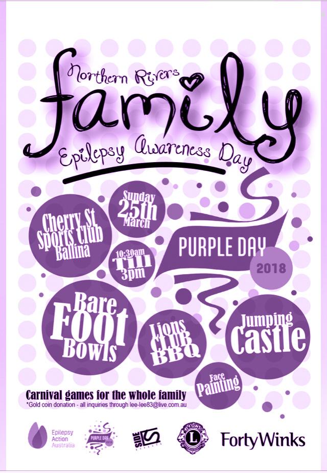 Purple-Day-School-Poster