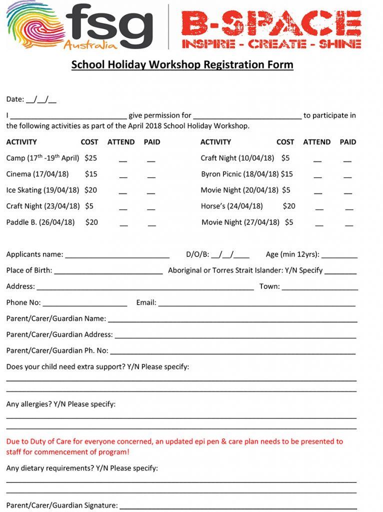 School-Holiday-Workshop-Registration-Form-April-2018