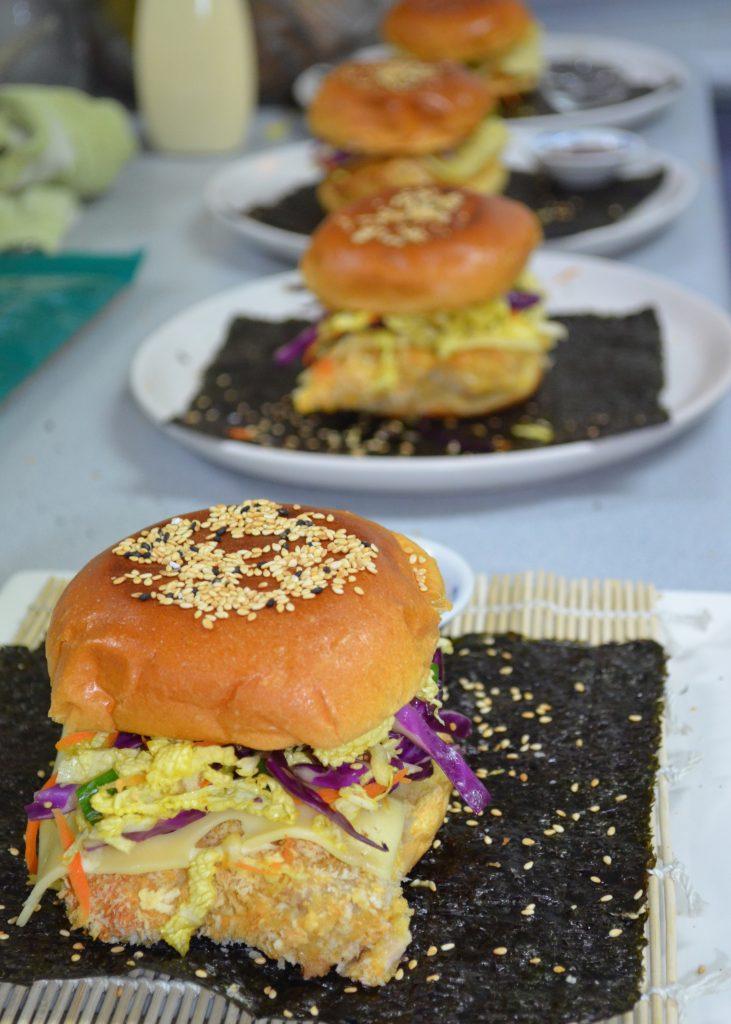 Burger-Katsu