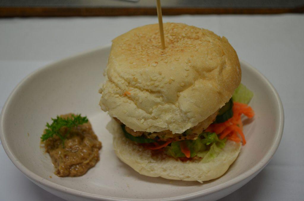Burgers-satay
