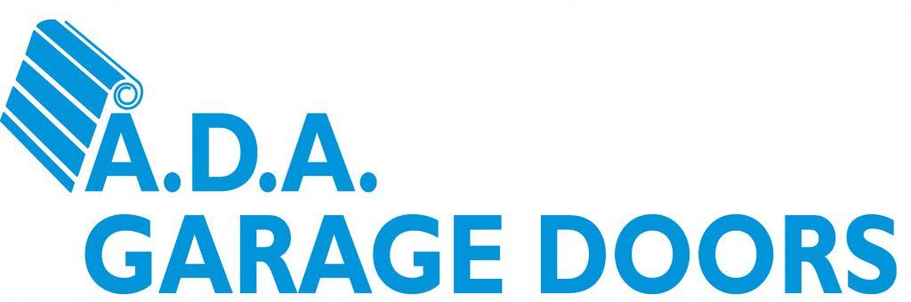ADA Garage Doors - blue logo