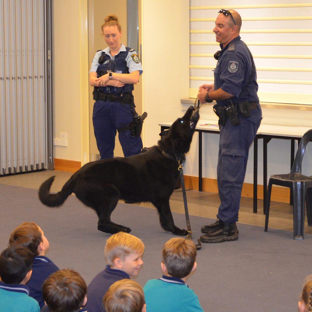 Police Dog Ken