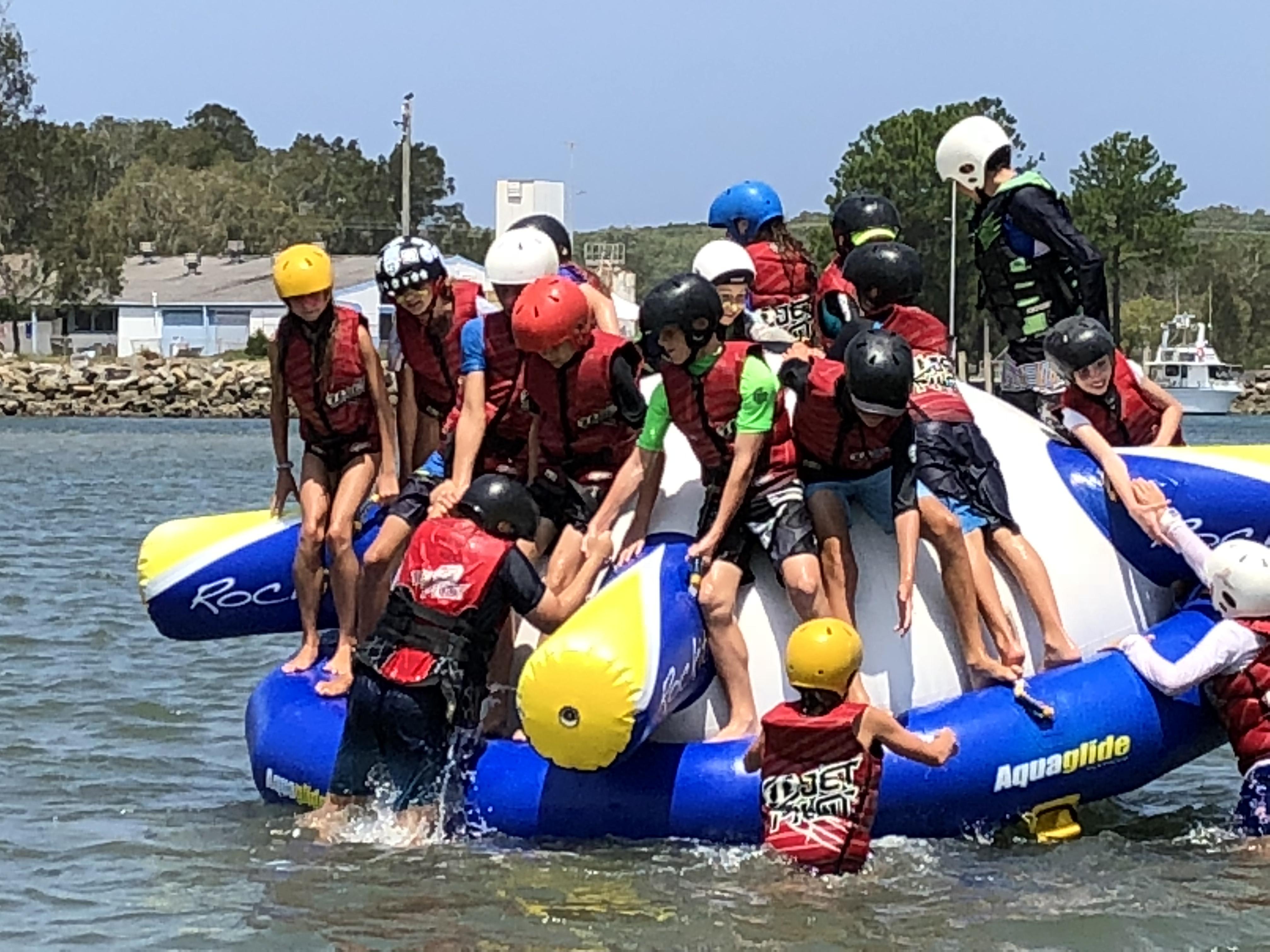year 7 water sport
