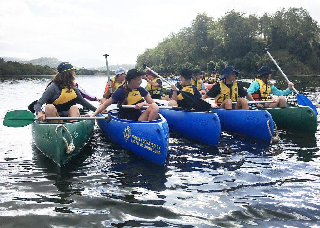 Silver DofE Canoe