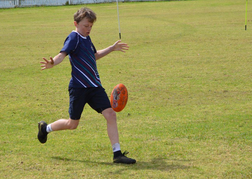 NCIS AFL primary kicking