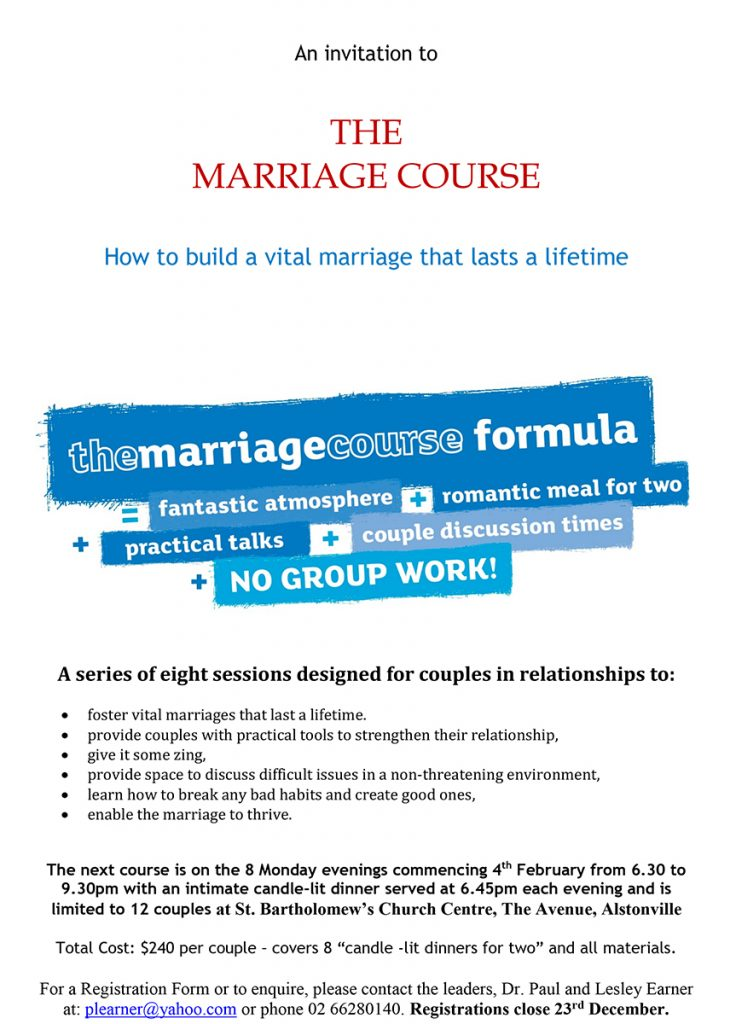 Marriage Course-1
