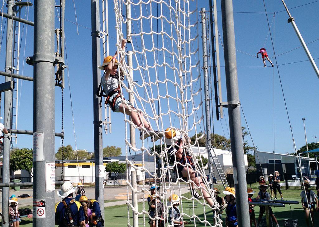 Yr 4 climbing 2