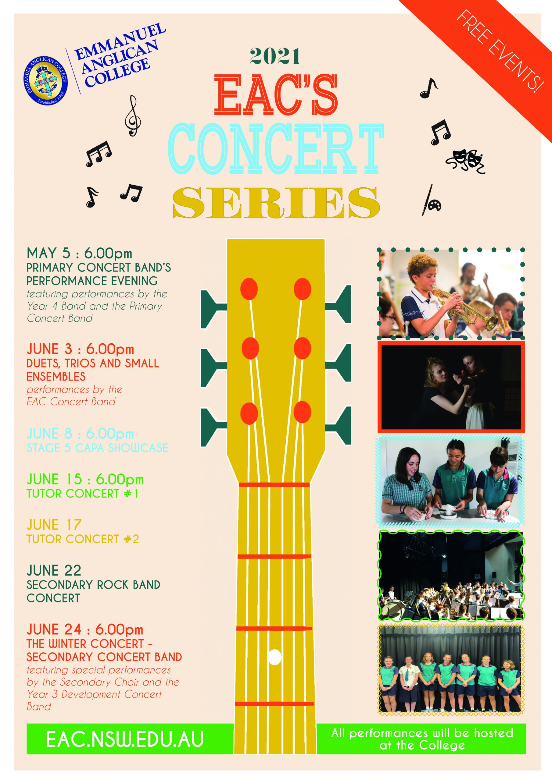 EAC Concert Series Flyer - New Dates