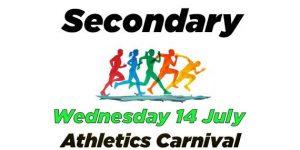 Secondary Athletics Carnival
